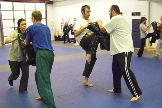 Rotating self defense images from class